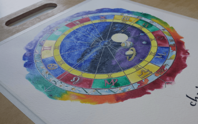 All About Your Hand Painted Natal Chart | Mystick Physick