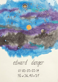 Aquarius Natal Chart – Edward Danger